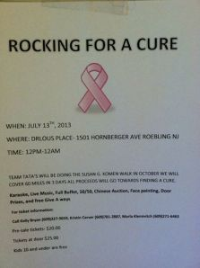 rocking for a cure